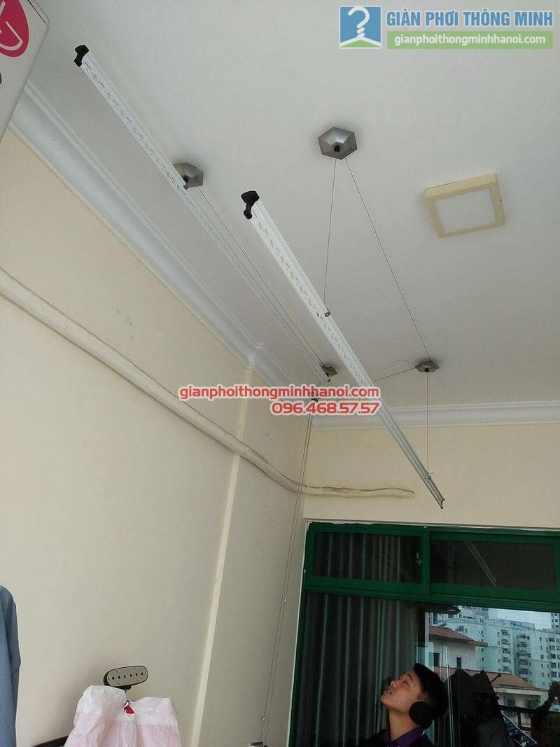 Lắp giàn phơi 999B nhà anh Đức, tòa 24T2 Hoàng Đạo Thúy, KĐT Trung Hòa Nhân Chính, Cầu Giấy, Hà Nội - 05