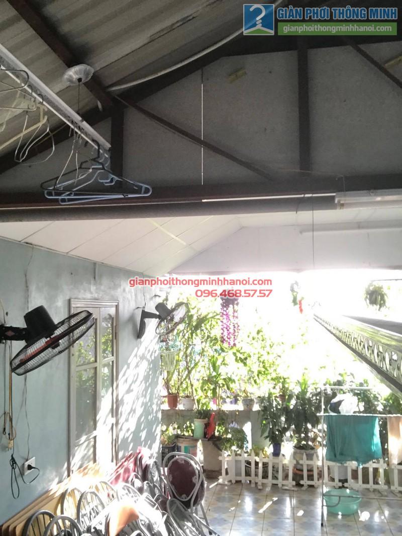Lắp đặt giàn phơi thông minh tại Đống Đa nhà cô Liên, ngõ 151 Thái Hà - 05