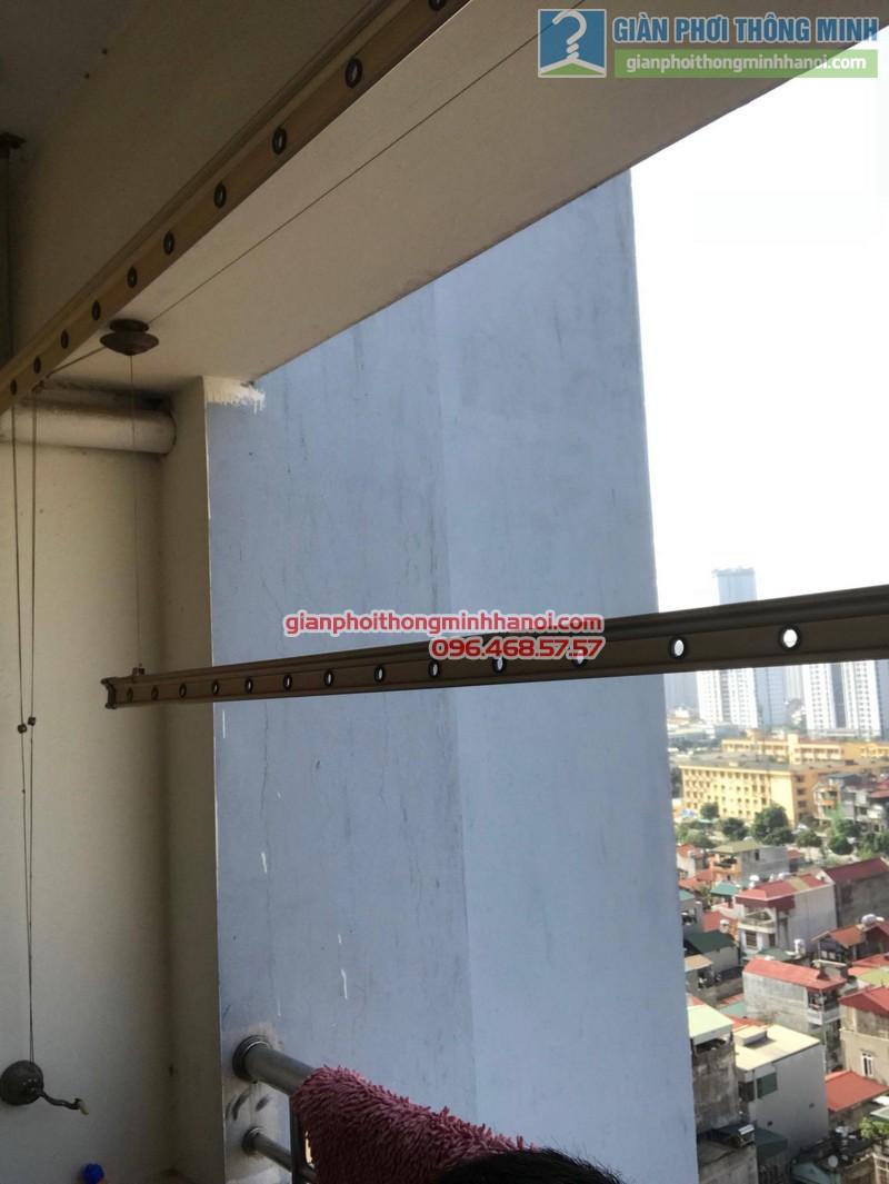 Sửa chữa giàn phơi tại Cầu giấy nhà chị Hiên,chung cư N07 Dịch Vọng - 05