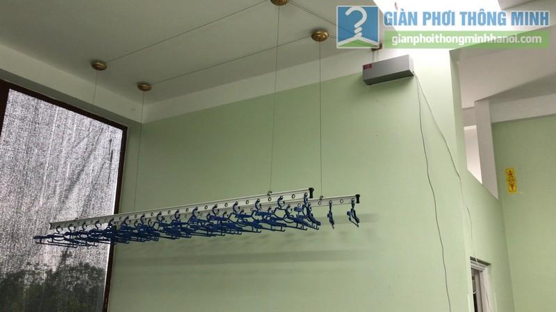 Lắp giàn phơi điện tự động Vinadry nhà chị Hảo ngõ 170 Xuân Thủy, Cầu giấy - 04