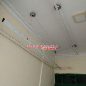 Lắp giàn phơi 999B nhà anh Đức, tòa 24T2 Hoàng Đạo Thúy, KĐT Trung Hòa Nhân Chính, Cầu Giấy, Hà Nội