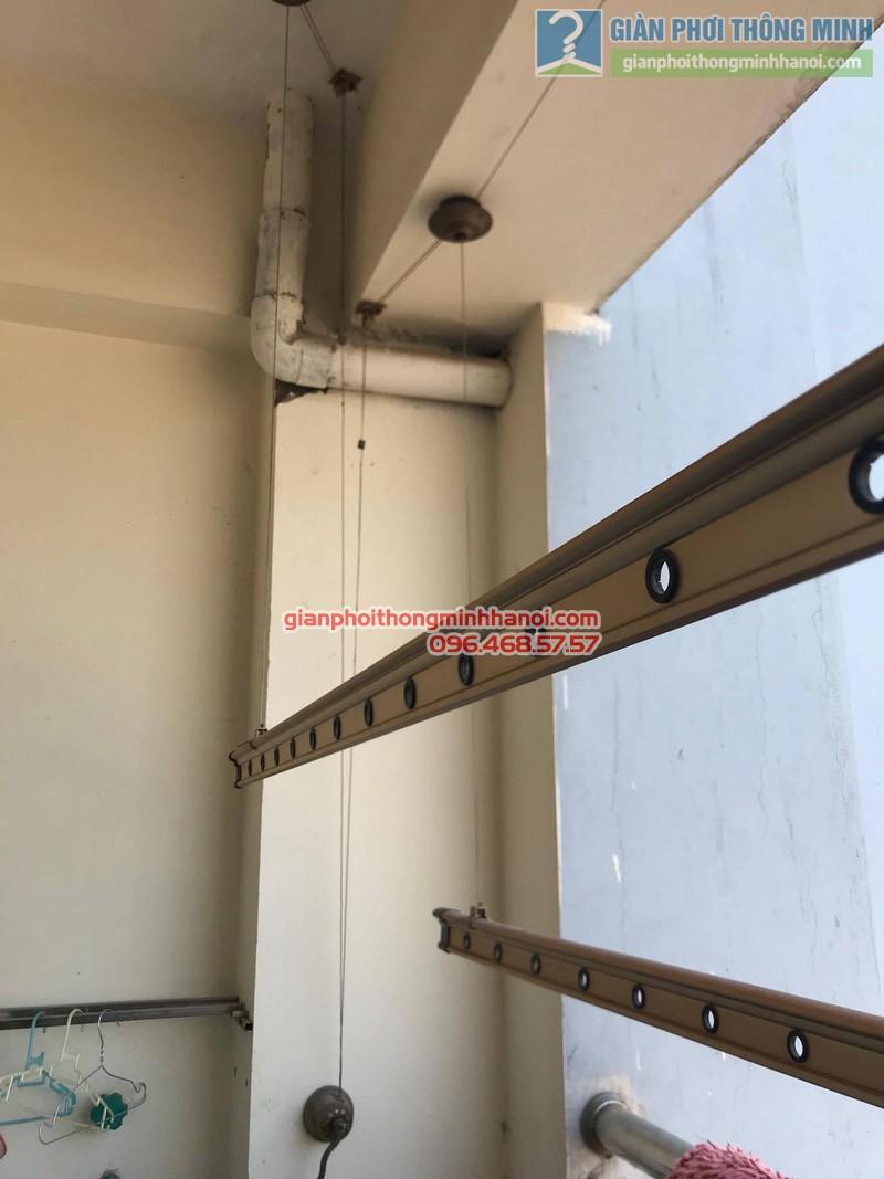Sửa chữa giàn phơi tại Cầu giấy nhà chị Hiên,chung cư N07 Dịch Vọng - 06