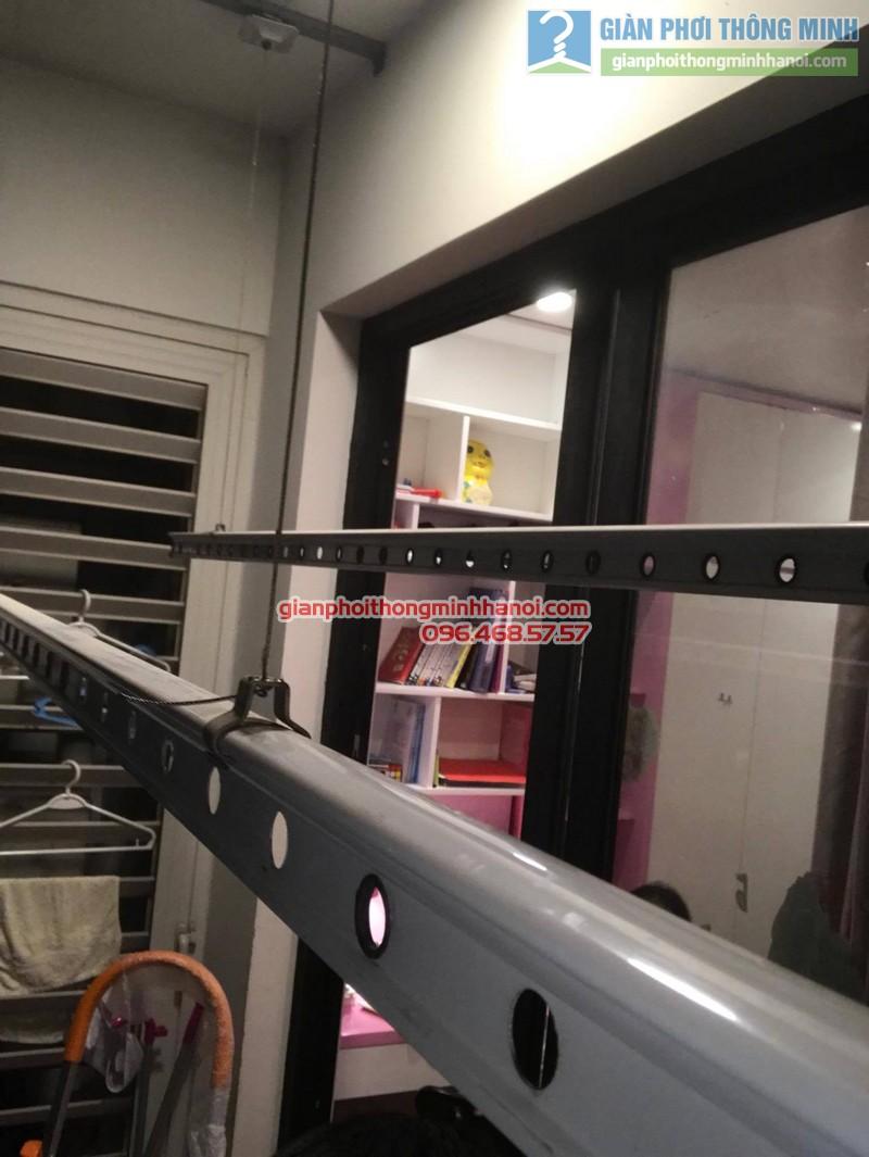 Sửa giàn phơi thông minh tại Times City nhà chị Quyên, P2619 Tòa T9 - 06