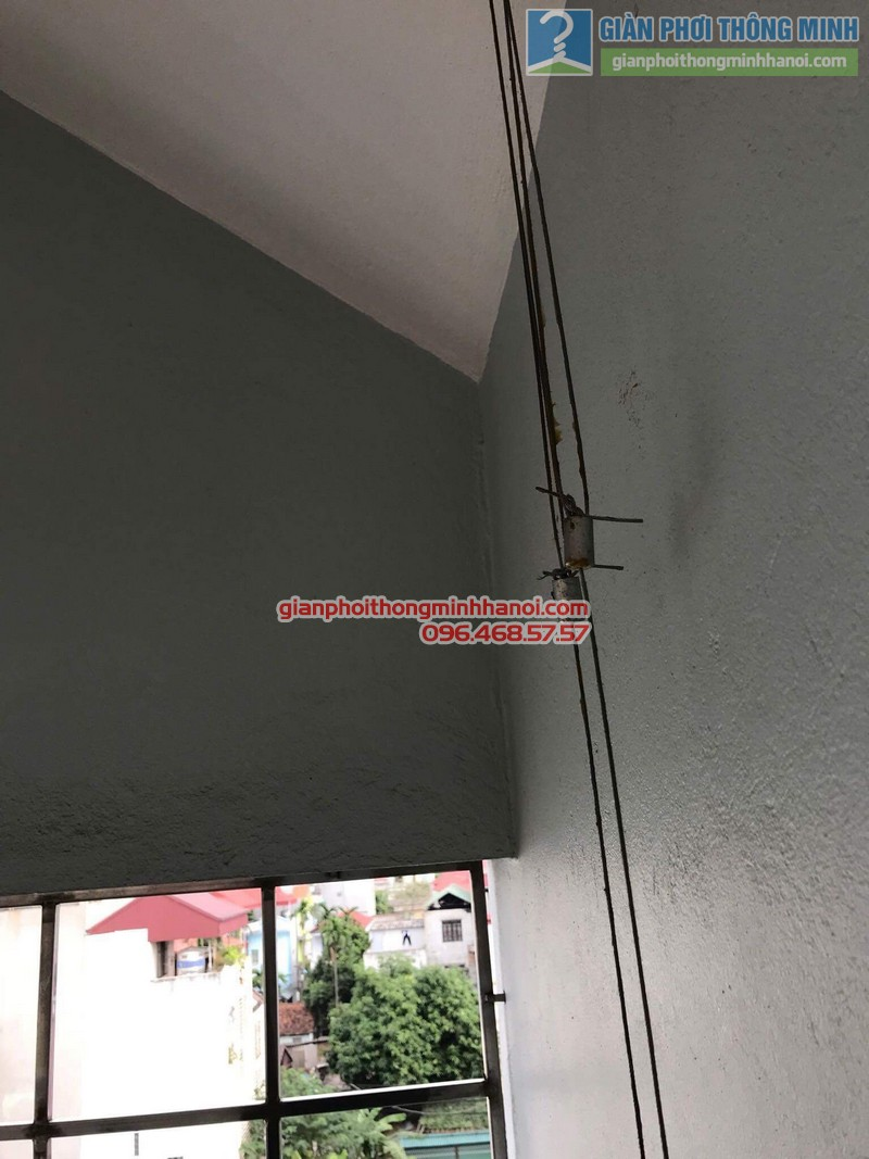 Sửa giàn phơi nhà chị Mùi, thị trấn Trâu Qùy, Gia Lâm, Hà Nội - 06