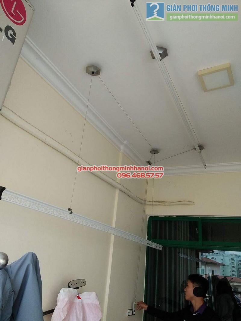 Lắp giàn phơi 999B nhà anh Đức, tòa 24T2 Hoàng Đạo Thúy, KĐT Trung Hòa Nhân Chính, Cầu Giấy, Hà Nội - 07