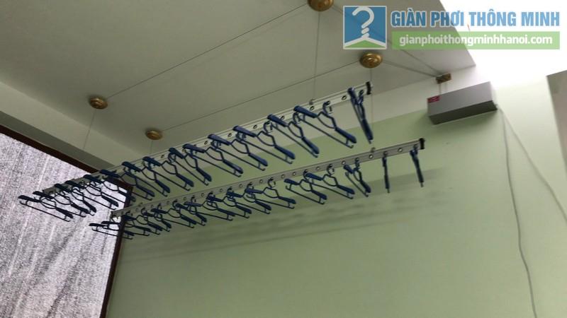 Lắp giàn phơi điện tự động Vinadry nhà chị Hảo ngõ 170 Xuân Thủy, Cầu giấy - 06