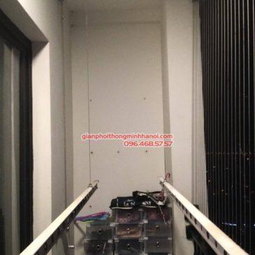Sửa giàn phơi thông minh tại Times City nhà chị Quyên, P2619 tòa T9
