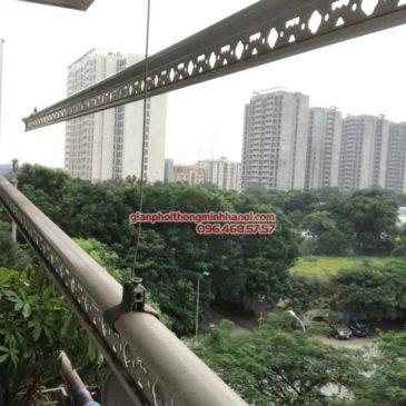 Thay củ quay giàn phơi thông minh nhà chị Thắm, chung cư N04 Hoàng Đạo Thúy, Trung Hòa, Cầu Giấy