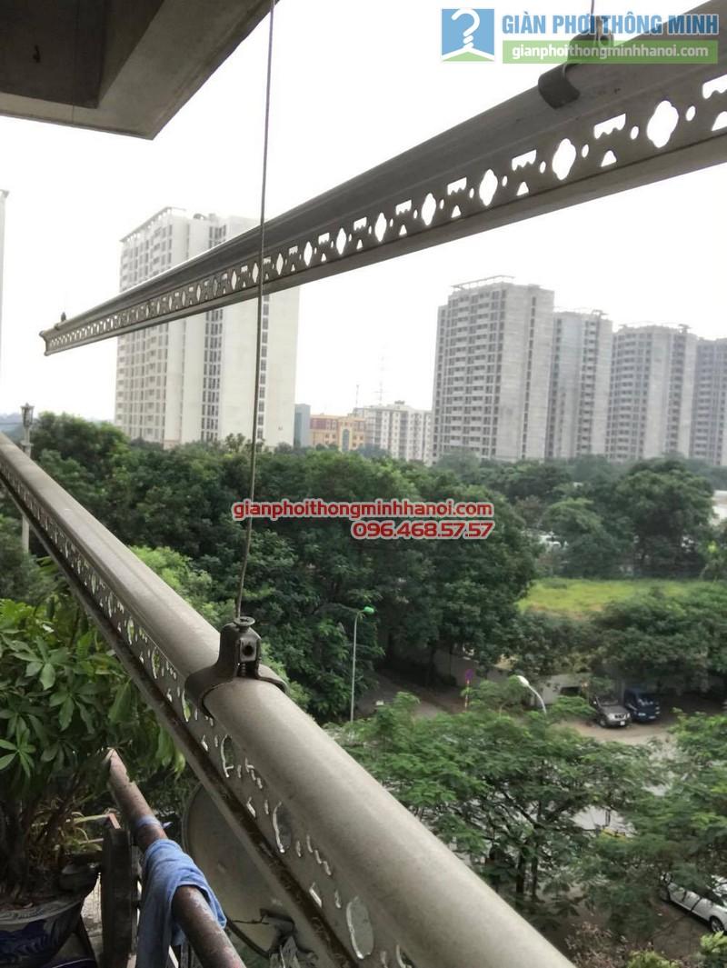 Thay củ quay giàn phơi nhà chị Thắm, chung cư N04 Hoàng Đạo Thúy, Trung Hòa, Cầu giấy - 07