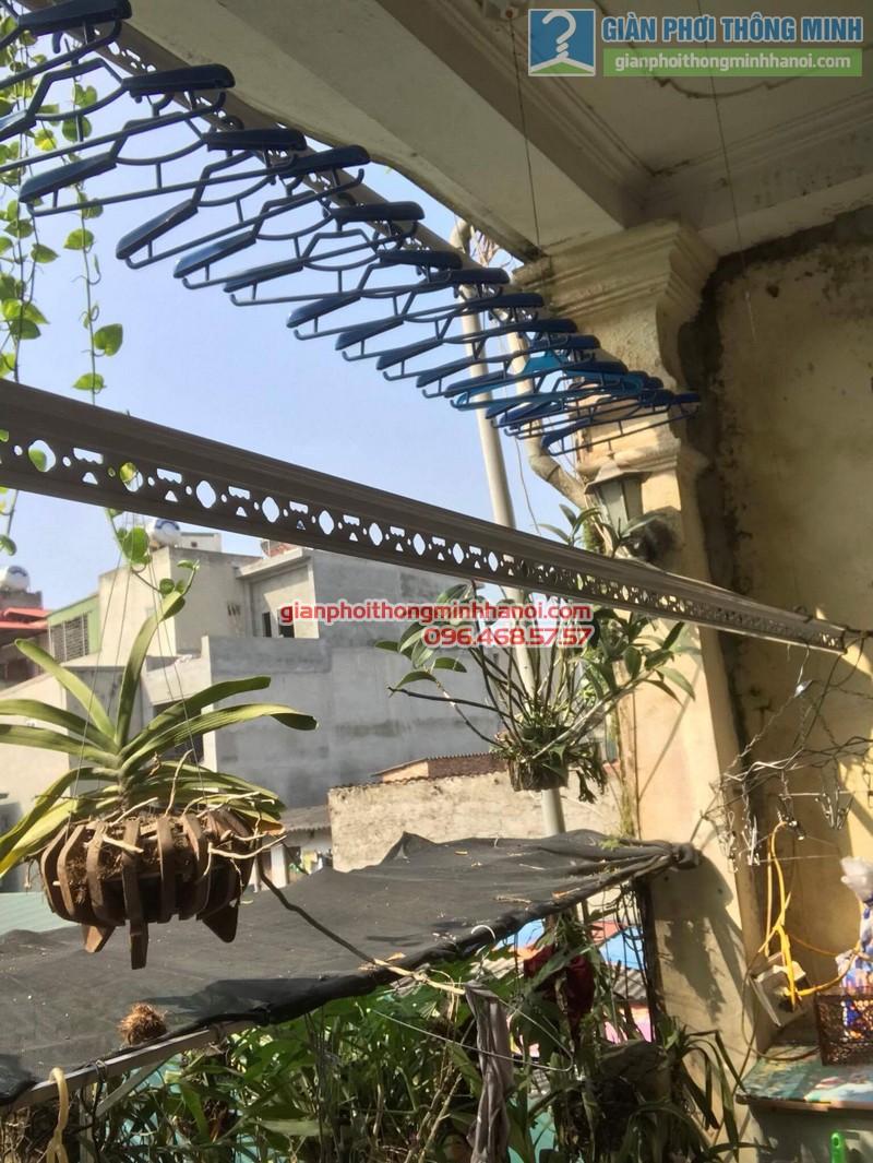 Lắp giàn phơi Thanh Trì nhà chị Bình, ngách 22, ngõ 5 Tân Triều- 03