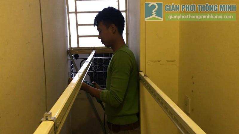 Lắp giàn phơi 999B nhà chị Mai, chung cư Hòa Bình Green, 505 Minh Khai, Hai Bà Trưng, Hà Nội - 10