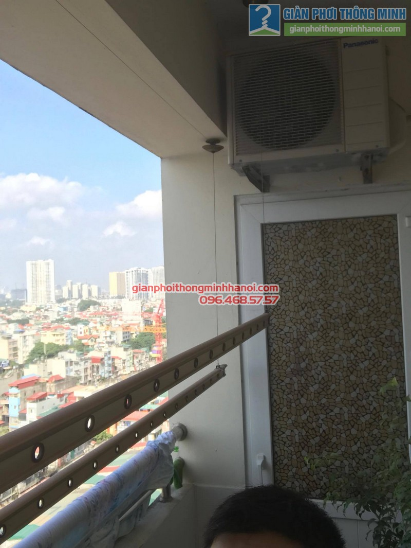 Sửa chữa giàn phơi tại Cầu giấy nhà chị Hiên,chung cư N07 Dịch Vọng - 08