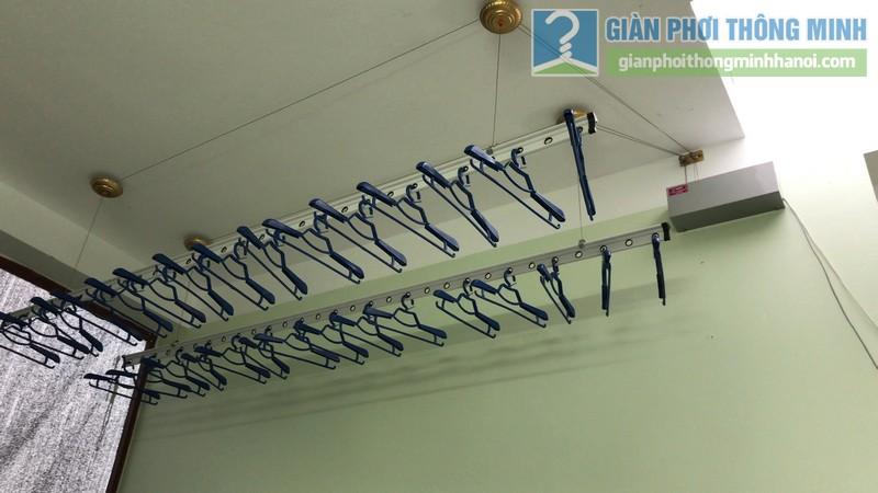 Lắp giàn phơi điện tự động Vinadry nhà chị Hảo ngõ 170 Xuân Thủy, Cầu giấy - 08