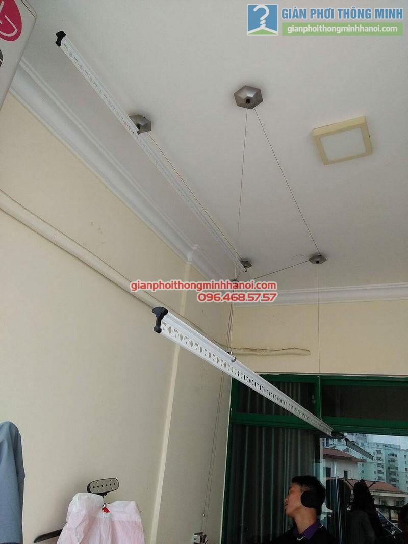 Lắp giàn phơi 999B nhà anh Đức, tòa 24T2 Hoàng Đạo Thúy, KĐT Trung Hòa Nhân Chính, Cầu Giấy, Hà Nội - 08