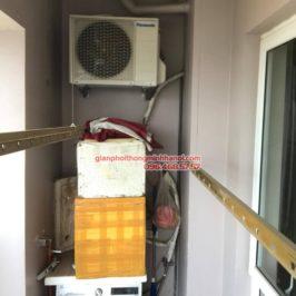 Sửa giàn phơi thông minh tại Hà Đông, nhà chị Hằng, chung cư 16B Nguyễn Thái Học