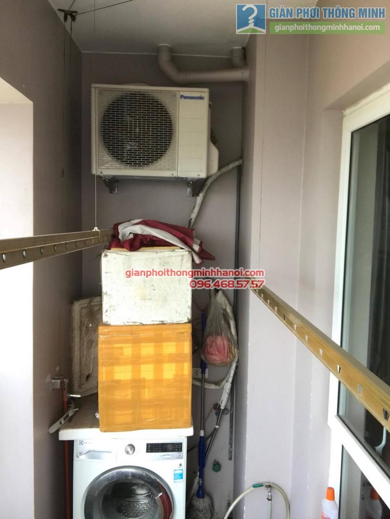 Sửa giàn phơi thông minh tại Hà Đông, nhà chị Hằng, chung cư 16B Nguyễn Thái Học - 09