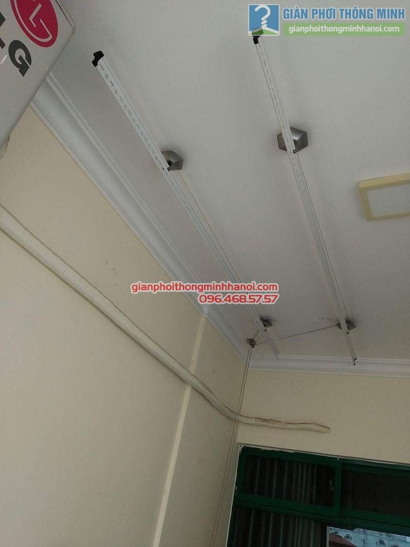 Lắp giàn phơi 999B nhà anh Đức, tòa 24T2 Hoàng Đạo Thúy, KĐT Trung Hòa Nhân Chính, Cầu Giấy, Hà Nội - 09