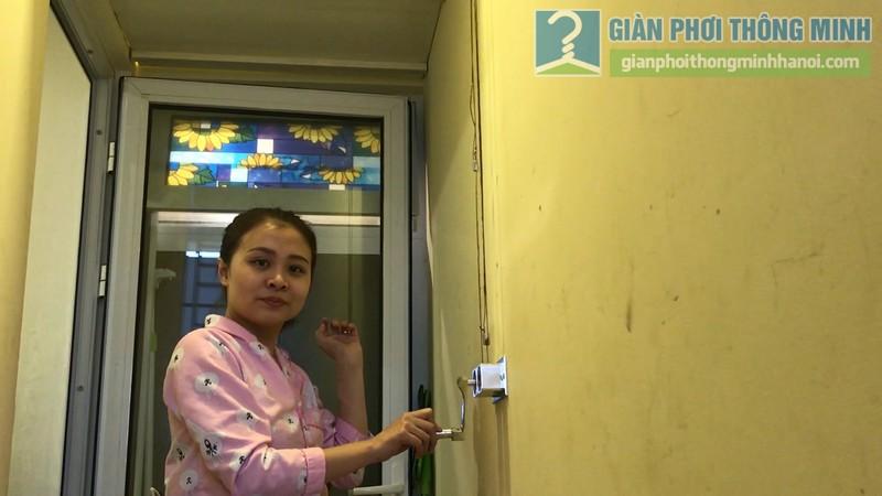 Lắp giàn phơi 999B nhà chị Mai, chung cư Hòa Bình Green, 505 Minh Khai, Hai Bà Trưng, Hà Nội - 12