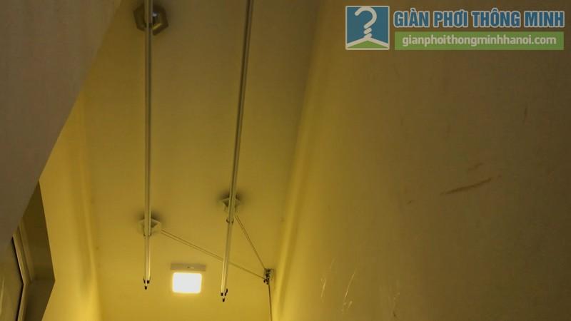 Lắp giàn phơi 999B nhà chị Mai, chung cư Hòa Bình Green, 505 Minh Khai, Hai Bà Trưng, Hà Nội - 04