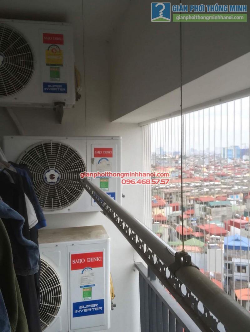 Sửa giàn phơi tại Thanh Xuân nhà chị Xuân, tòa B chung cư Star Tower, 283 Khương Trung - 02
