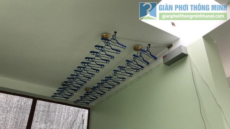 Lắp giàn phơi điện tự động Vinadry nhà chị Hảo ngõ 170 Xuân Thủy, Cầu giấy - 13