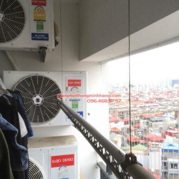 Sửa giàn phơi tại Thanh Xuân nhà chị Xuân, tòa B chung cư Star Tower 283 Khương Trung
