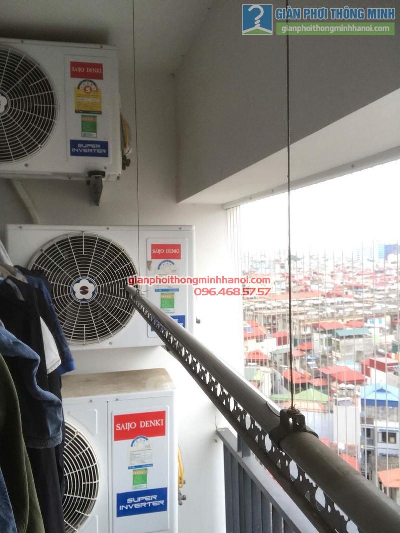 Sửa giàn phơi tại Thanh Xuân nhà chị Xuân, tòa B chung cư Star Tower, 283 Khương Trung - 03