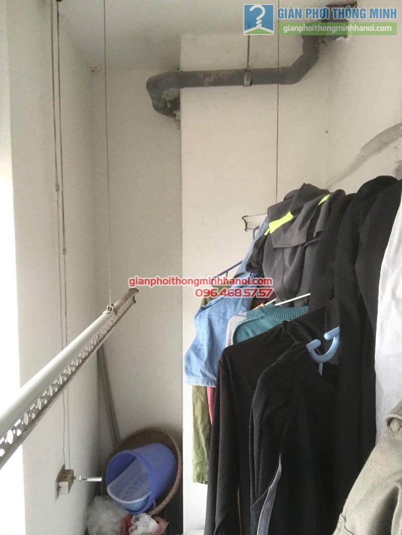 Sửa giàn phơi tại Thanh Xuân nhà chị Xuân, tòa B chung cư Star Tower, 283 Khương Trung - 04