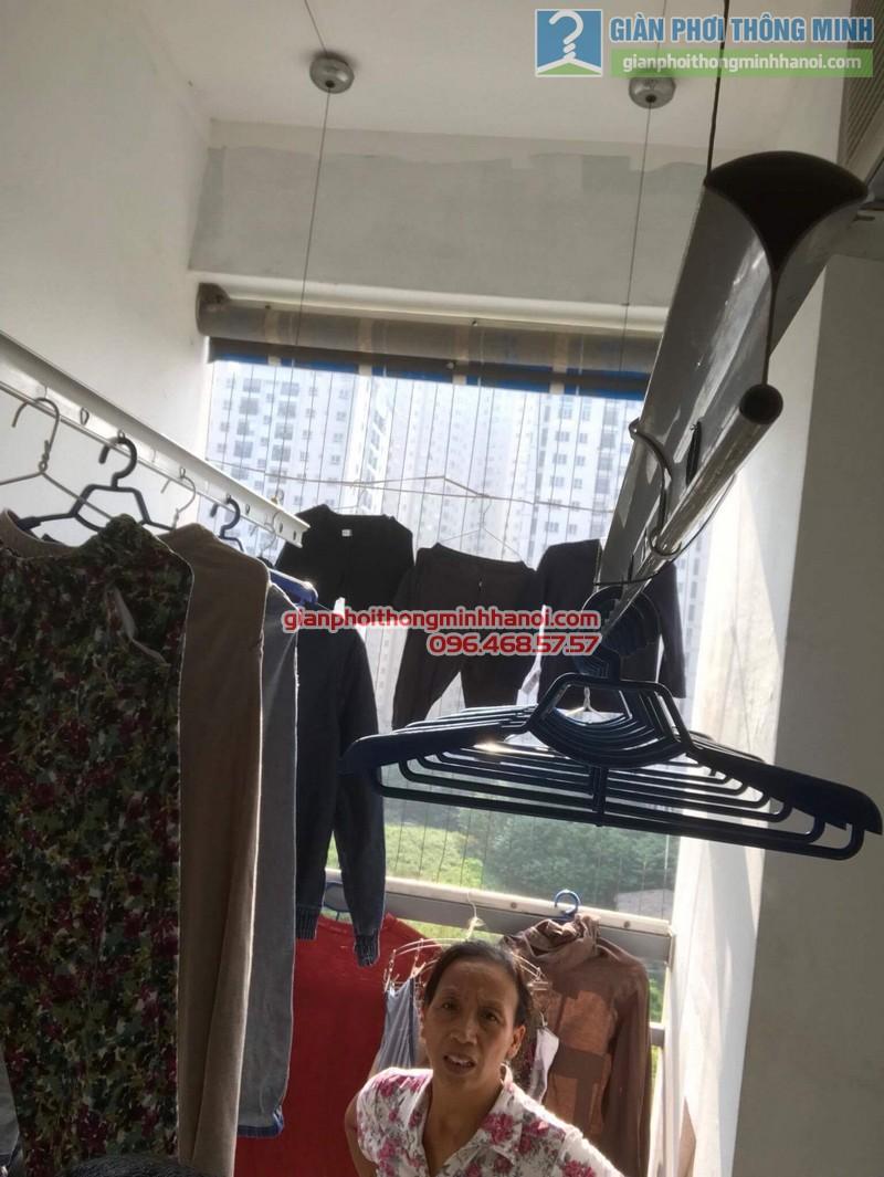 Sửa giàn phơi nhà cô Toán, chung cư CT4 Trung Văn, Nam Từ Liêm, Hà Nội - 02