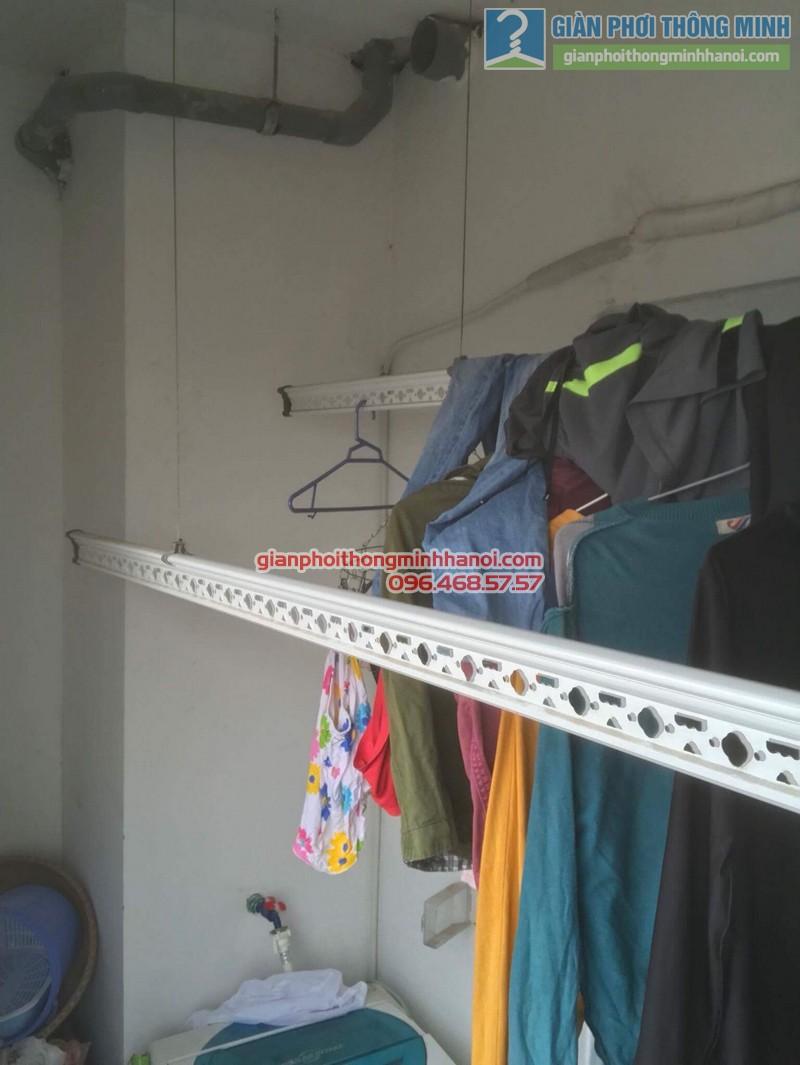 Sửa giàn phơi tại Thanh Xuân nhà chị Xuân, tòa B chung cư Star Tower, 283 Khương Trung - 05
