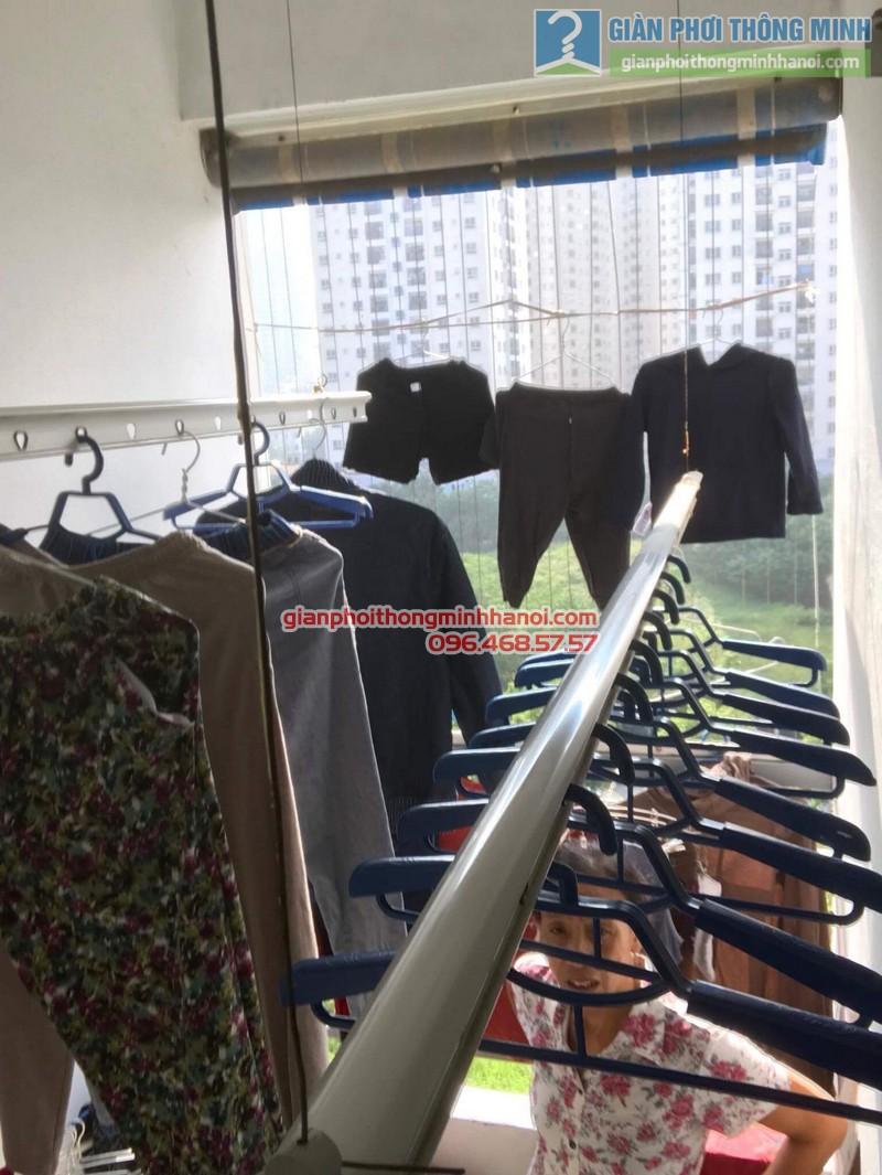 Sửa giàn phơi nhà cô Toán, chung cư CT4 Trung Văn, Nam Từ Liêm, Hà Nội - 03