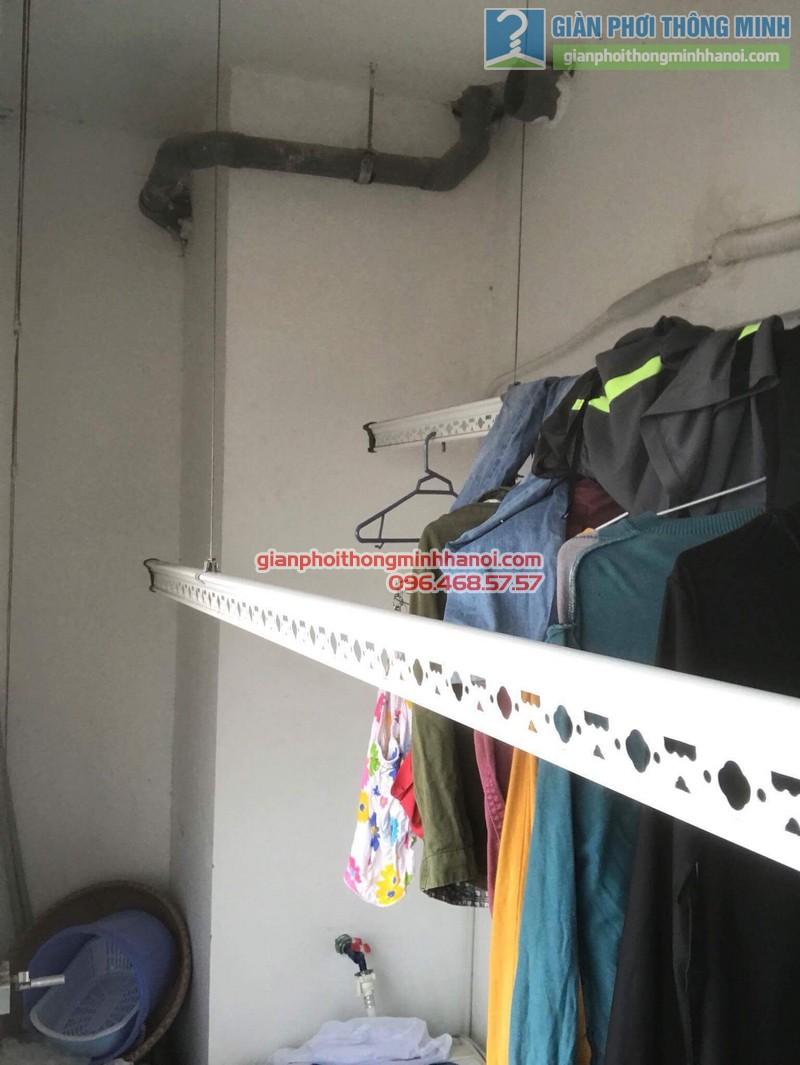 Sửa giàn phơi tại Thanh Xuân nhà chị Xuân, tòa B chung cư Star Tower, 283 Khương Trung - 07