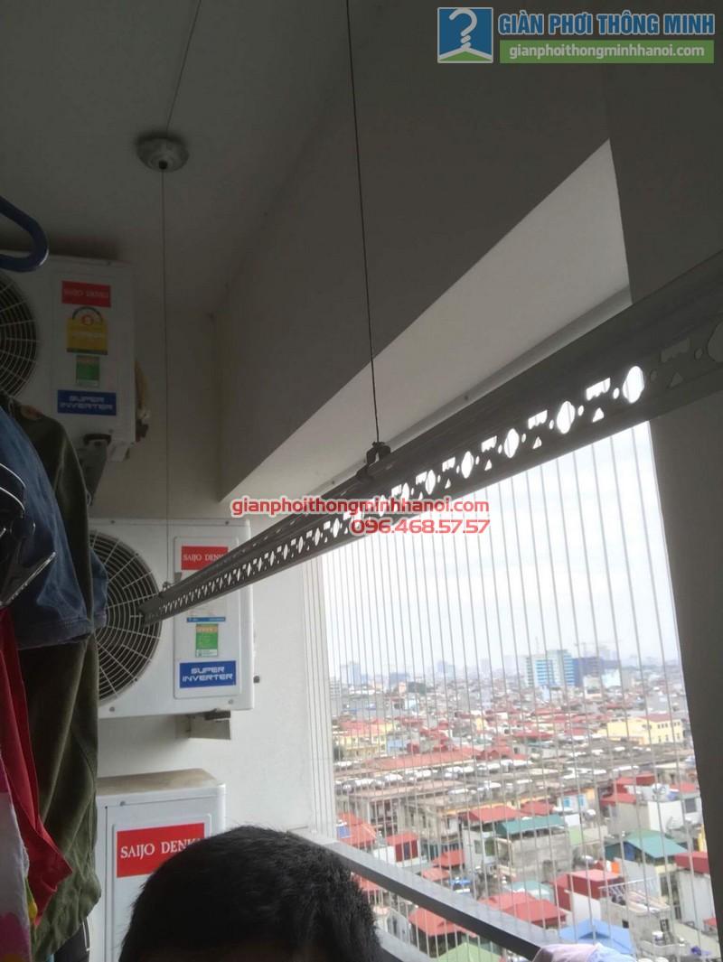 Sửa giàn phơi tại Thanh Xuân nhà chị Xuân, tòa B chung cư Star Tower, 283 Khương Trung - 08