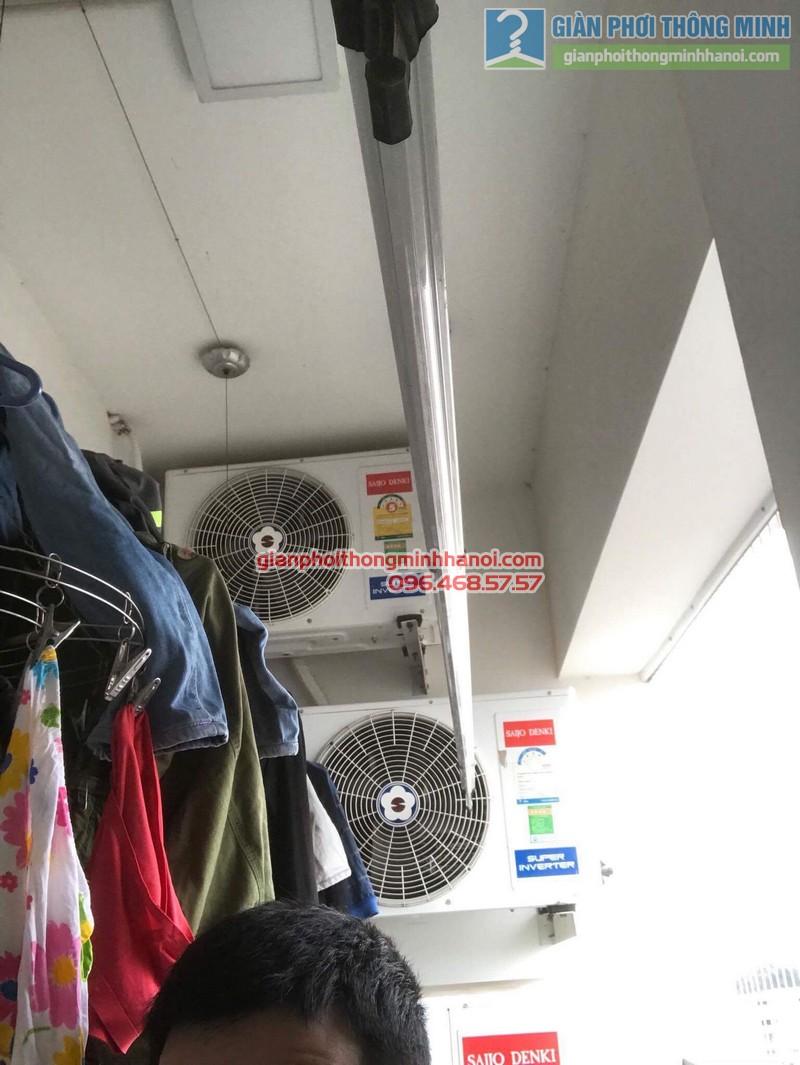 Sửa giàn phơi tại Thanh Xuân nhà chị Xuân, tòa B chung cư Star Tower, 283 Khương Trung - 10