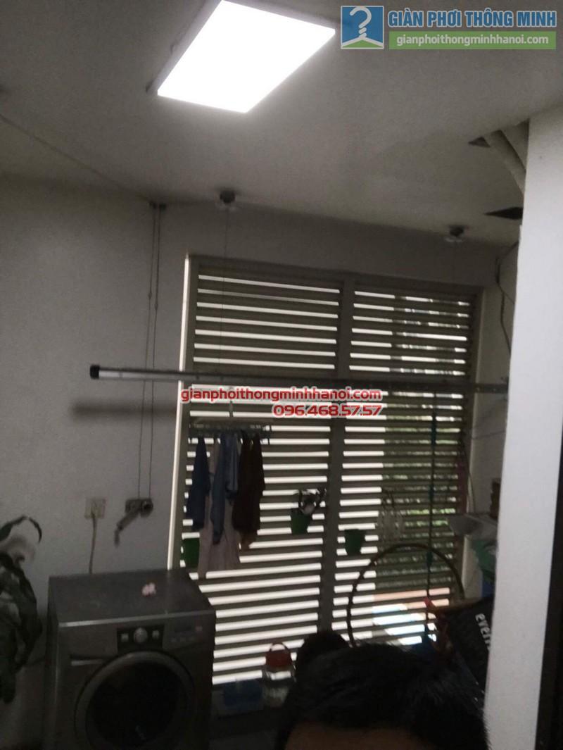 Sửa giàn phơi tại Cầu giấy nhà anh Hải, chung cư Mandarin Garden - 04