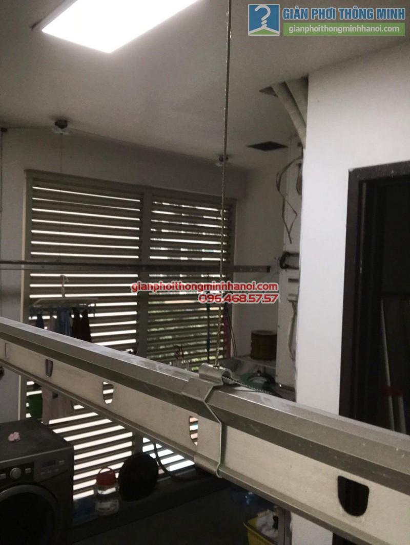 Sửa giàn phơi tại Cầu giấy nhà anh Hải, chung cư Mandarin Garden - 05