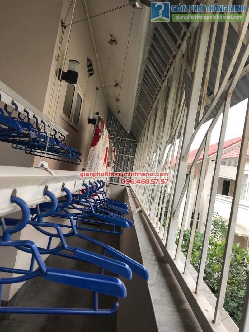 Sửa giàn phơi thông minh nhà chị Chi, Biệt thự BT6, KĐT An Hưng, Hà Đông, Hà Nội - 04