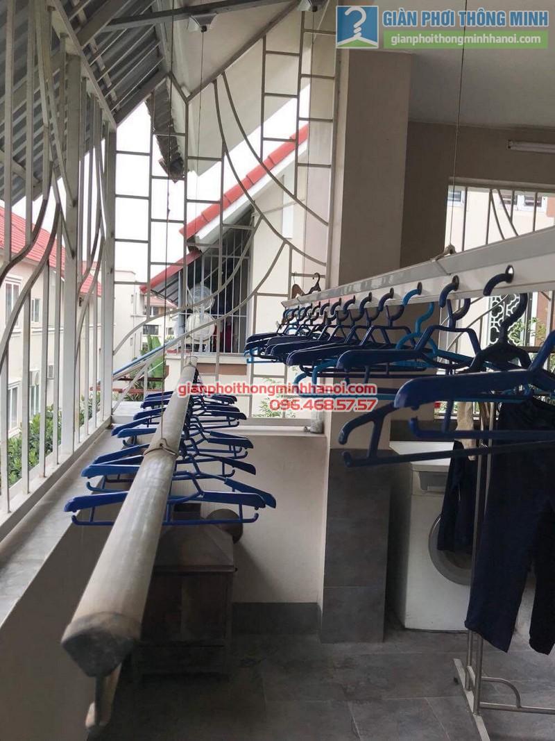 Sửa giàn phơi thông minh nhà chị Chi, Biệt thự BT6, KĐT An Hưng, Hà Đông, Hà Nội - 05