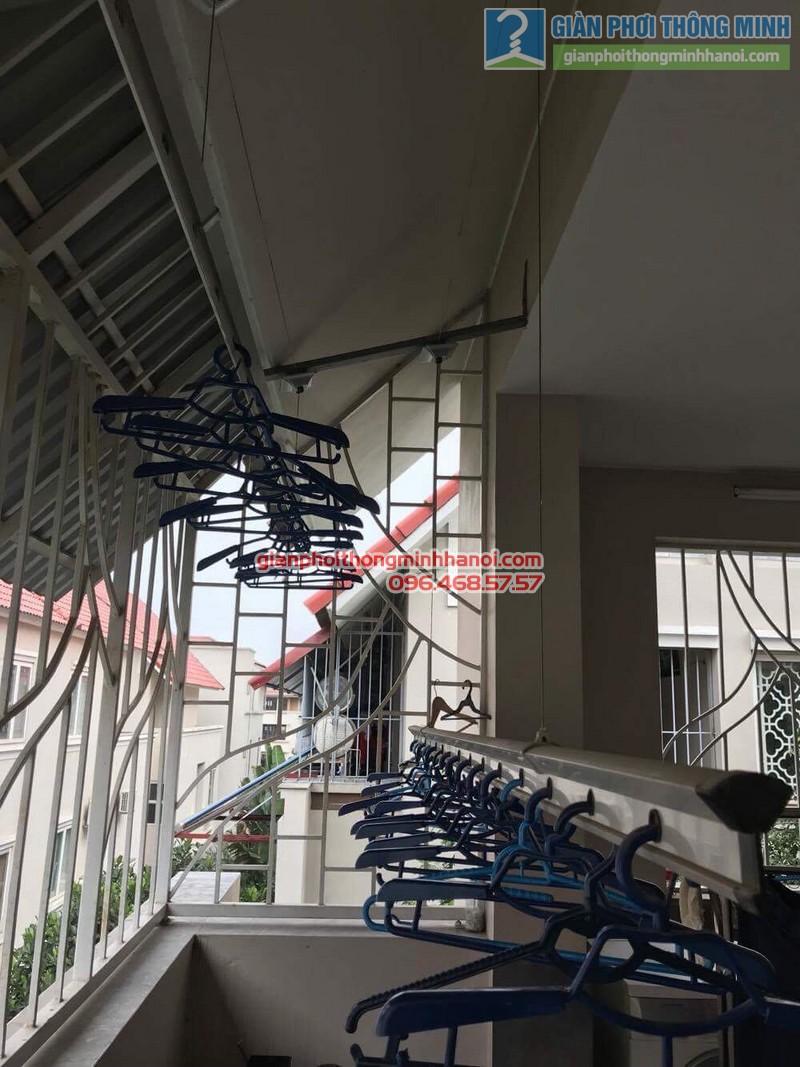Sửa giàn phơi thông minh nhà chị Chi, Biệt thự BT6, KĐT An Hưng, Hà Đông, Hà Nội - 07