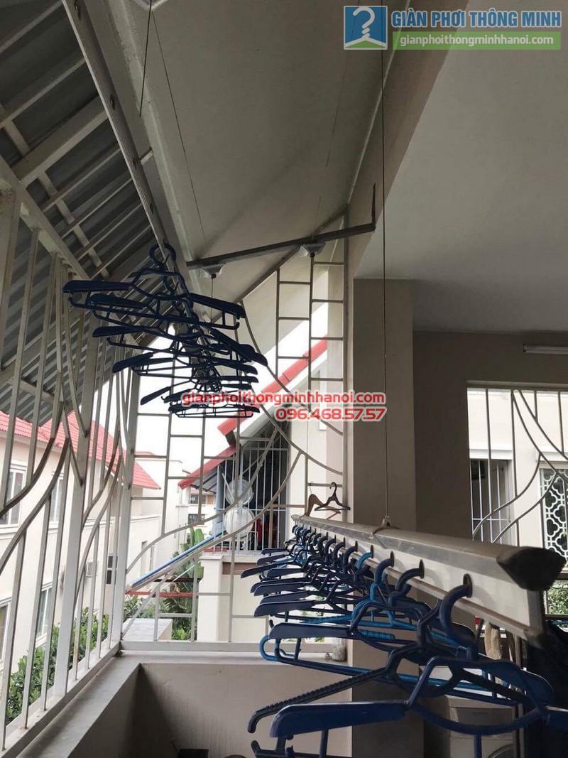 Sửa giàn phơi thông minh nhà chị Chi, Biệt thự BT6, KĐT An Hưng, Hà Đông, Hà Nội - 08