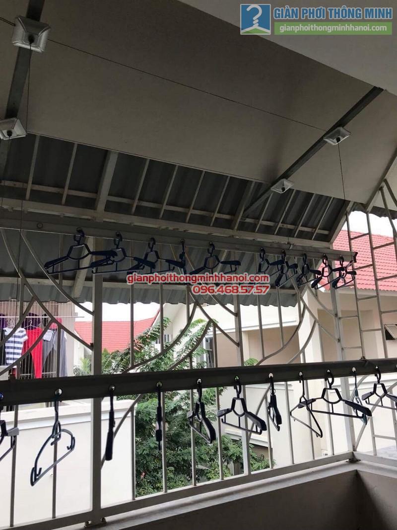 Sửa giàn phơi thông minh nhà chị Chi, Biệt thự BT6, KĐT An Hưng, Hà Đông, Hà Nội - 09