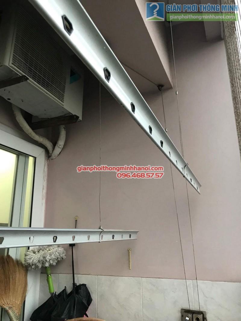 Sửa chữa giàn phơi nhà chị Oanh, chung cư CT3 đơn nguyên 2, KĐT Trung Văn, Từ Liêm, Hà Nội - 05