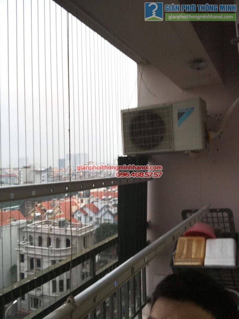 Sửa chữa giàn phơi nhà chị Oanh, chung cư CT3 đơn nguyên 2, KĐT Trung Văn, Từ Liêm, Hà Nội - 07