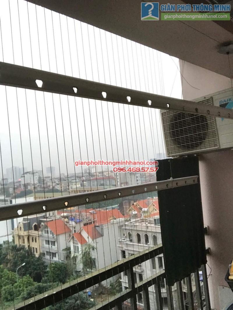 Sửa chữa giàn phơi nhà chị Oanh, chung cư CT3 đơn nguyên 2, KĐT Trung Văn, Từ Liêm, Hà Nội - 08
