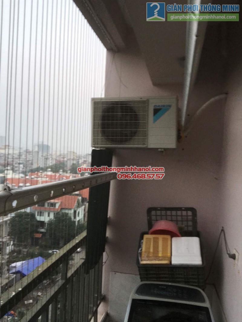 Sửa chữa giàn phơi nhà chị Oanh, chung cư CT3 đơn nguyên 2, KĐT Trung Văn, Từ Liêm, Hà Nội - 09