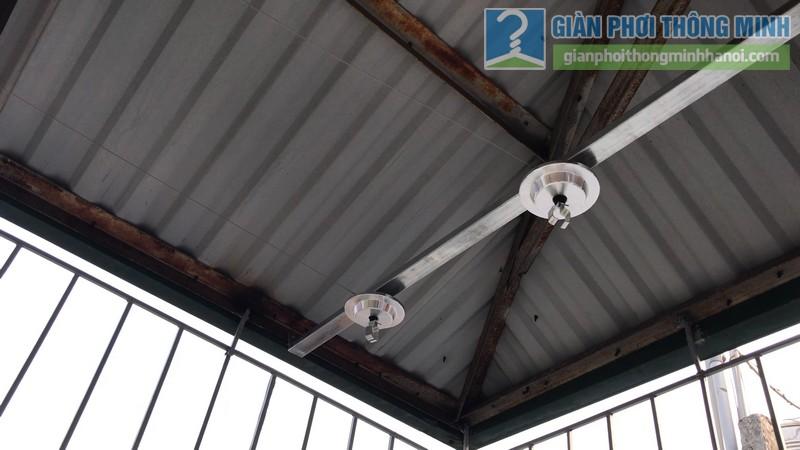 Lắp giàn phơi Hòa phát Air gp701 nhà anh Vinh, Phú Đô, Nam Từ Liêm, Hà Nội - 02