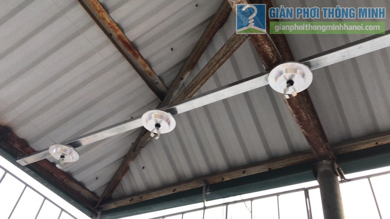 Lắp giàn phơi Hòa phát Air gp701 nhà anh Vinh, Phú Đô, Nam Từ Liêm, Hà Nội - 03