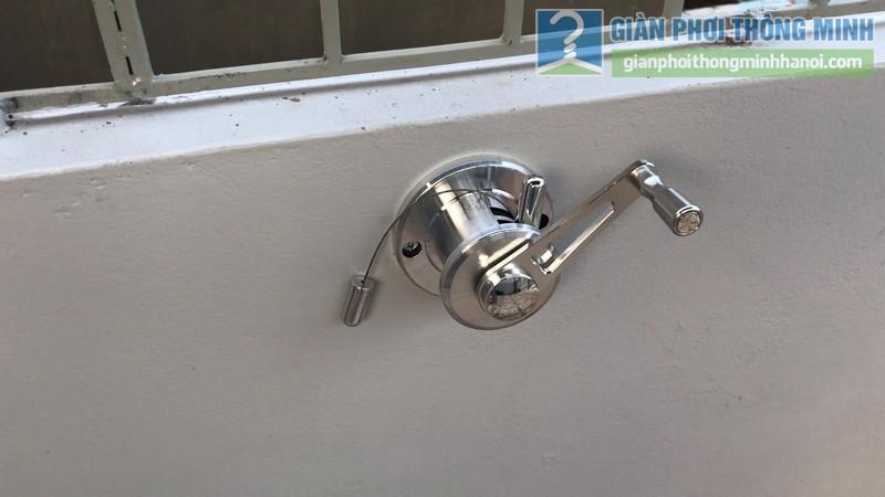 Lắp giàn phơi Hòa phát Air gp701 nhà anh Vinh, Phú Đô, Nam Từ Liêm, Hà Nội - 05