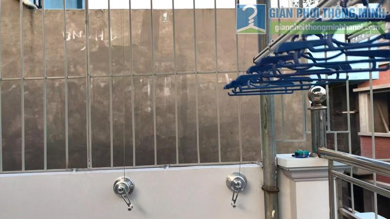 Lắp giàn phơi Hòa phát Air gp701 nhà anh Vinh, Phú Đô, Nam Từ Liêm, Hà Nội - 09