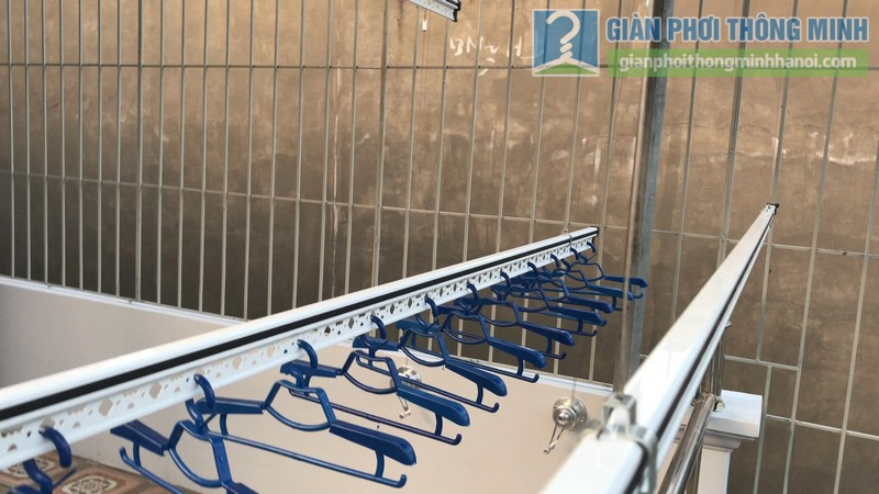 Lắp giàn phơi Hòa phát Air gp701 nhà anh Vinh, Phú Đô, Nam Từ Liêm, Hà Nội - 10